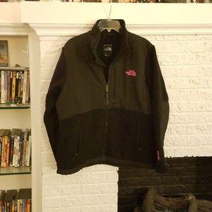 North Face Nylon and Fleece Jacket, size XL